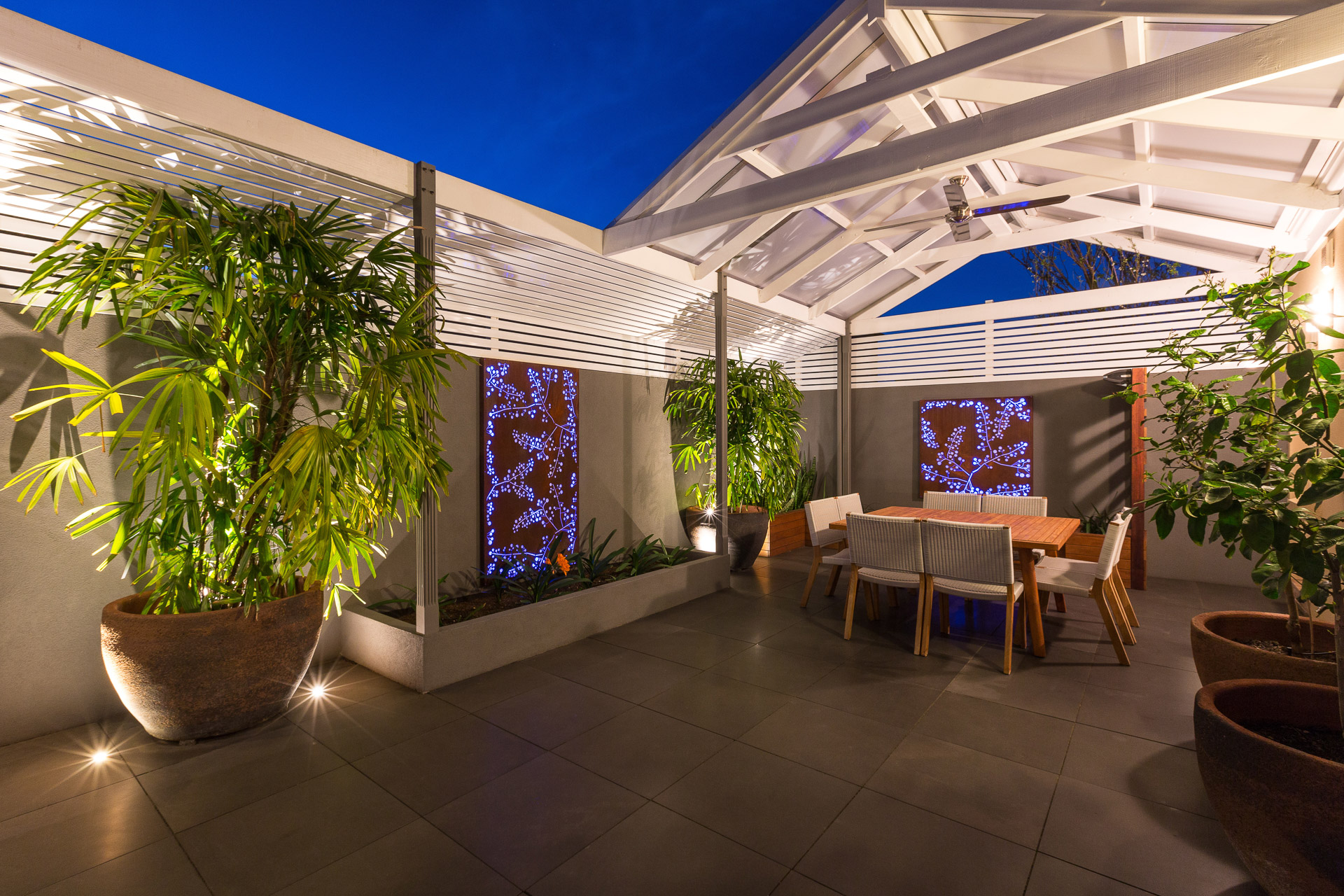 Gallery testimonials sa outdoor lighting lux wall lights lux spot lights and rgb strip lighting illumating outdor area and backlit screen aloadofball Image collections