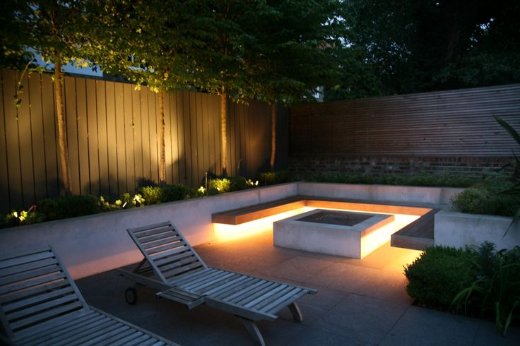 Strip lighting under timber seating sa outdoor lighting strip lighting under timber seating aloadofball Choice Image