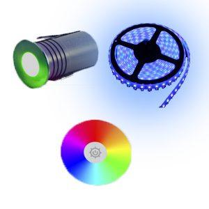 LED COLOURED LIGHTING (12V)