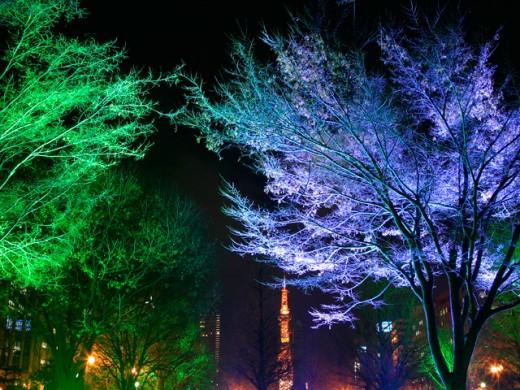 LUX RGB Spike Light sa outdoor lighting