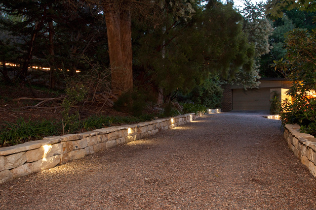 Baer Bullet Lights in Stone Wall Reoccuring